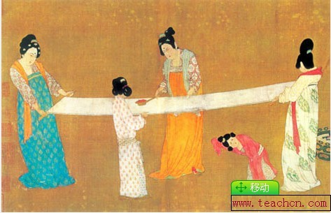 Ancient chinese court painting jobs in china for Dynasty mural works